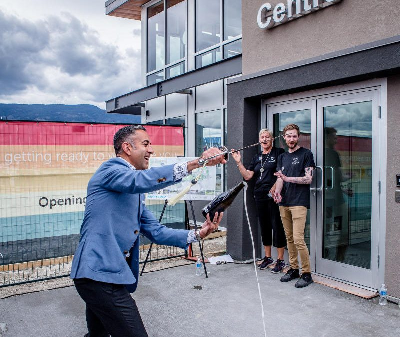 Opening of Kelowna's New Waterfront Vistor Centre